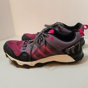 Adidas Kanadia Tr7 Trail Black Pink Purple Running